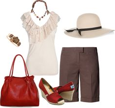 """summer short outfit"" by jeewbee on Polyvore"