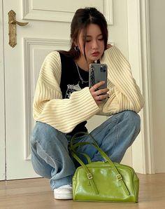 Moda Aesthetic, Aesthetic Fashion, Aesthetic Clothes, Korean Aesthetic, Style Ulzzang, Mode Ulzzang, Ulzzang Girl, Korean Street Fashion, Asian Fashion