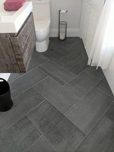 Bathroom Floor Tiles Ideas – Bathroom tiles are an… tiledbathrooms – Marble Bathroom Dreams Marble Bathroom Floor, Shower Floor Tile, Bathroom Floor Plans, Diy Bathroom, Laundry In Bathroom, Marble Bathrooms, Cheap Bathroom Flooring, Bathroom Ideas, Grey Floor Tiles