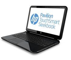 "Genuine HP Refurbished Pavilion 15-B153CL AMD A8-4555M 1.6GHz 8GB 750GB 15.6"" TouchSmart W8 (Black)"
