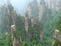 Tianzi Mountain, Zhangjiajie China