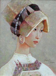 Xue Mo (1966) artiste originaire de Mongolie, basée à Pékin.