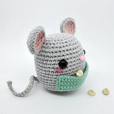 Most current Absolutely Free crochet amigurumi mouse Thoughts Amigurumi Mouse / Crochet Mouse / Plush Mouse / Crochet Mice / Amigurumi Mice / Ratón Amigurumi / Crochet Diy, Crochet Kawaii, Crochet Hood, Crochet Mouse, Crochet Baby Hats, Crochet Patterns Amigurumi, Amigurumi Doll, Crochet Crafts, Crochet Dolls