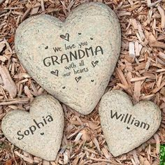 Personalized garden stones with an array of themes! Select your stone and allow us to personalize the garden design with your details for a custom gift.
