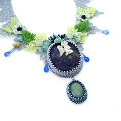 Náhrdelníky Exklusiv   Mijabijoux Handmade Jewelry Crochet Necklace, Handmade Jewelry, Handmade Jewellery, Jewellery Making, Diy Jewelry, Craft Jewelry, Handcrafted Jewelry