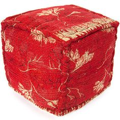 Girilal Kantha Pouf now featured on Fab.