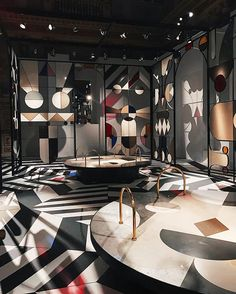 @jaimehayon teams up with @caesarstone_int on an architectural pavilion that nods to Crystal Palace built in London's Hyde Park for the Great Exhibition of 1851. The impressive piece combines 48 Caesarstone colours with metal and stained glass. More #salonedelmobile highlights via link in bio. (: @jessklingelfuss) #design #CSmilan2017  via WALLPAPER MAGAZINE OFFICIAL INSTAGRAM - Fashion Design Architecture Interiors Art Travel Contemporary Lifestyle