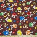 M&M Big Fun Toss 100% Cotton Fabric