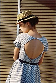 Solo Lisa: Lucca Couture Open-Back Dress Summer Outfits, Cute Outfits, Summer Dresses, Cute Dresses, Beautiful Dresses, Beautiful Flowers, Look Retro, Moda Casual, Creation Couture