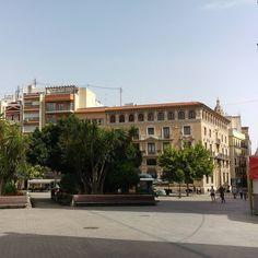 Buscando una sombra en #Murcia. #Verano #Summer