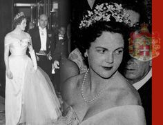 HRH Princess Maria Pia, the eldest daughter of Umberto II of Italy and Marie-José of Belgium