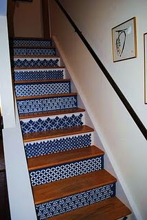 stencil tutorial for stairs