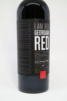 Georgian Red on Packaging of the World - Creative Package Design Gallery