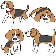 Beagle stickers