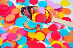 Rainbow Tissue Paper Confetti, Biodegradable Confetti, Confetti Mix - Confetti Biodegradable Confetti, Biodegradable Products, Sunshine Cupcakes, Elmo Birthday Invitations, Sunshine Birthday Parties, Elmo World, Paper Confetti, Rainbow Parties, Party Items