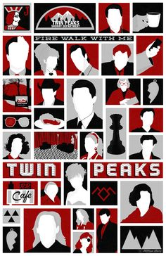 Twin Peaks variant poster by billpyle.deviantart.com on @deviantART