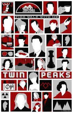 Twin Peaks variant poster by billpyle.deviantart.com on @deviantART
