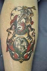 Navy Shellback Tattoo Tats Tattoos Shellback Tattoo Sailor Tattoos