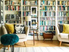 A 1930s Bristol, England Home for a Book Lover