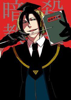 ansatsu kyoushitsu   Neuro as Koro-sensei, the students in classroom could have nightmare if Neuro's their teacher... ( . _ . )