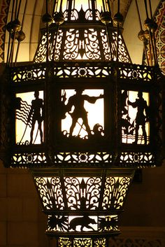 Los Angeles City Hall - chandelier