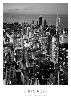 Chicago Poster in the group Posters & Prints at Desenio AB (8923)