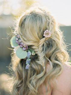 LOVE this boho hair