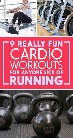 9 Incredible Ways To Get A Cardio Workout That Aren't All Running. They are legit incredible.