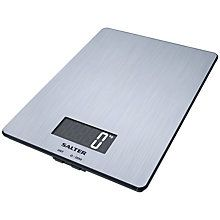 Buy Salter Stainless Steel Digital Kitchen Scale, 5kg Online at johnlewis.com