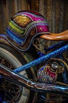 custom paint motorcycle Kustom Kulture- I Live For This Shit Custom Motorcycle Paint Jobs, Cool Motorcycle Helmets, Custom Paint Jobs, Bobber Motorcycle, Cool Motorcycles, Lowrider, Vintage Helmet, Pinstriping Designs, Helmet Paint