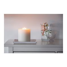 VILLIG Scented candle with 3 wicks IKEA