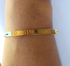 A beautiful gold name bracelet made from solid silver 925 .The perfect gift for your friend,bridesmaids or your girlfriend.