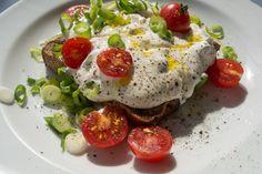 Quark auf Röstbrot mit Leinöl mag nicht jedermanns Sache zum Frühstück sein…