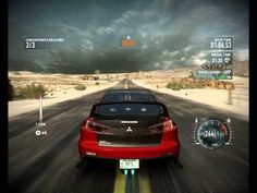 Need for Speed The Run Challenge Series Nevada Dream [Dry heat/Outrun/Vegas velocity] - YouTube