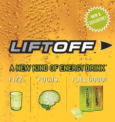 FIZZ: The FIRST to market in the U.S. with an effervescent energy drink!       FOCUS: The FIRST energy drink with a  proprietary energy blend that can actually  enhance mental performance!*   Helps you stay alert*   Reduces mental fatigue*   Pumps up your concentration*   Helps improve short-term memory*       FUEL GOOD!™: Blended with more than  100% RDI of vitamins B6 and B12 for  enhanced energy production and  vitamin C for added nutrition.  Flavors available are Ignite Me Orange…