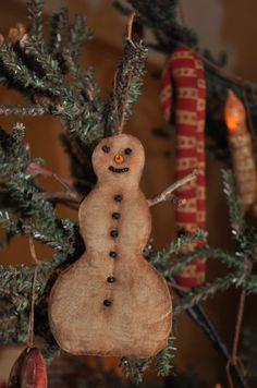 Grungy Snowman