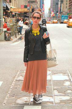 Zara - People - Alba Cuesta, Nueva York -