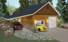 Bonus rooms architect software and garage on pinterest for Garage plan software
