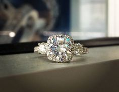 Rocks on rocks on rocks: Engagement Ring Eye Candy - Wedding Party | Wedding Party