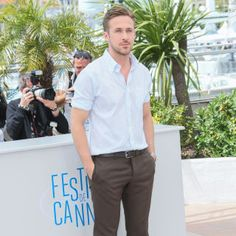 In honor of Canada Day, we've rounded up the most stylish Canadian celebs: Ryan Gosling.