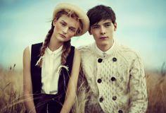 Vogue Teen by Kasia Kret, via Behance