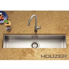 Houzer provides wide range of single and double bowl configuration sinks with premium stainless steel & true zero radius ledge. Single Bowl Kitchen Sink, Kitchen Sinks, Prep Sink, Trough Sink, Bar Counter, Home Improvement, Bar Sinks, Zero, Goose Creek