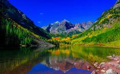 Maroon Bells Peaks Colorado 5K
