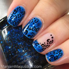 ! Maryam Maquillage !: Leopard Nails & Toes!!