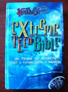 Extreme Teen Bible No Fears No Regrets NCV New Century Version Child Bible | eBay