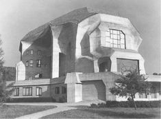 Figure 5: The Second Goetheanum from the Northwest