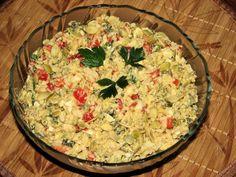 Sałatka wielkanocna z brokułem - Przepisy kulinarne - Sałatki Grains, Rice, Food, Essen, Meals, Seeds, Yemek, Laughter, Jim Rice