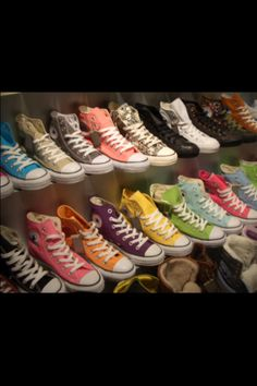 Haha... Mah dream converse collection... ❤❤❤❤❤❤