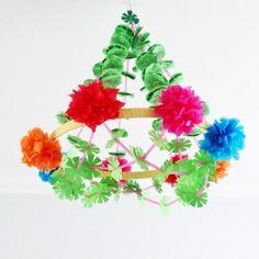 polish paper chandelier (pajaki)