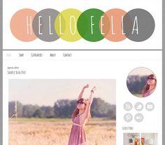 144 best ::Cute Blogger Templates :: images on Pinterest   Design ...